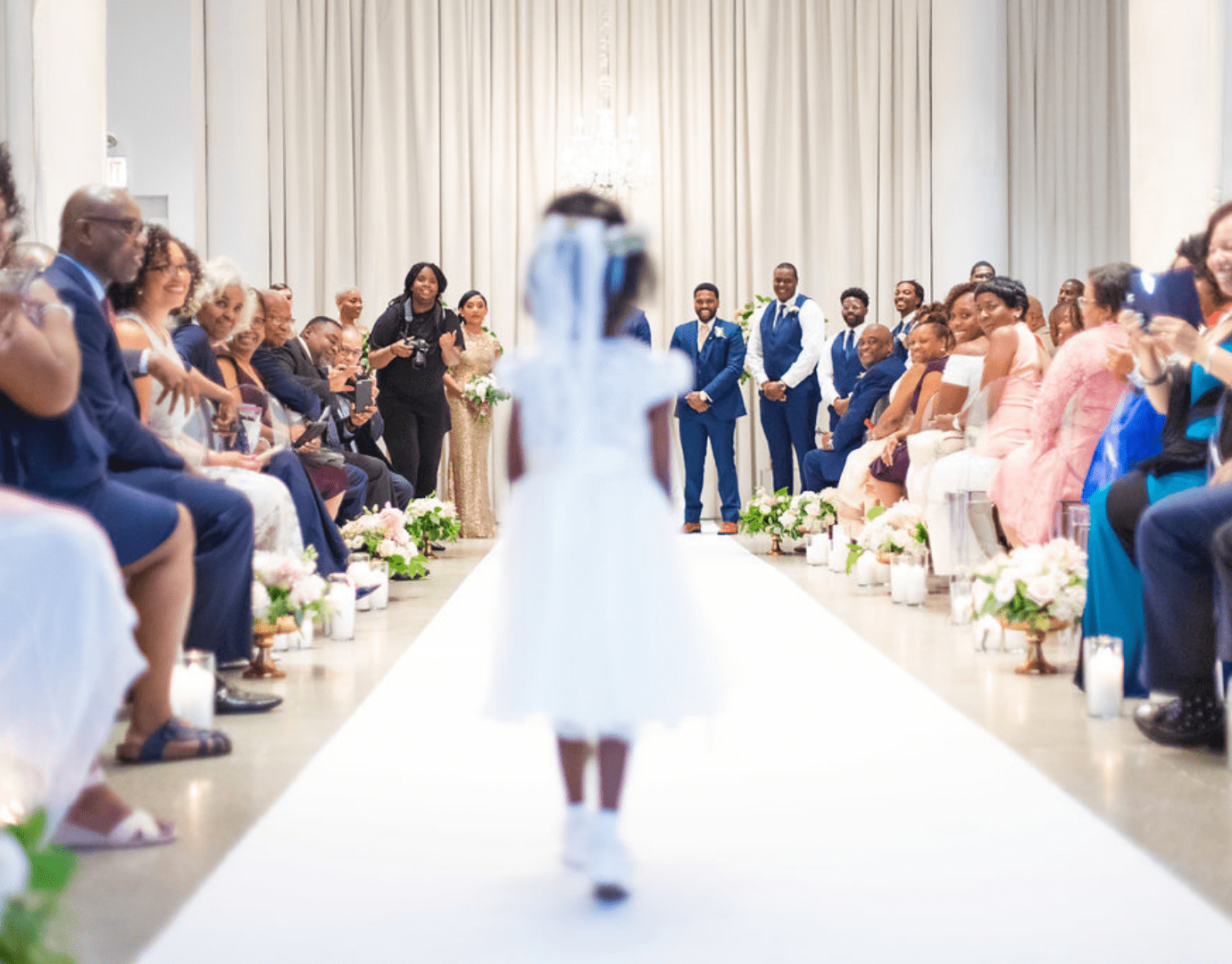 SouthWind Event Chicago Wedding Planner flower girl photo by J Lauryn Photography